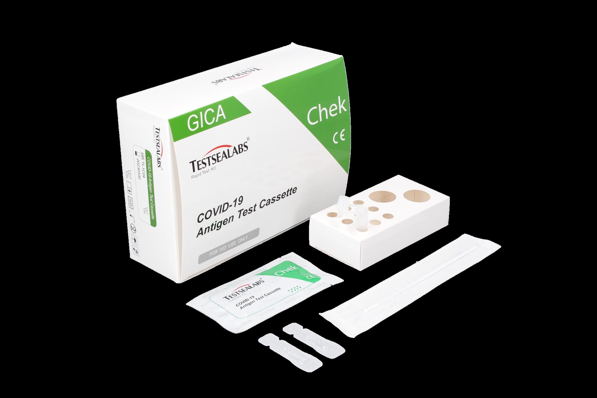 Kit 25 tests antigéniques Realy Tech